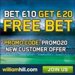 William Hill Free Bet Promo Code