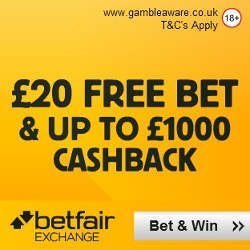 Betfair Exchange Promo Code for Free Bet
