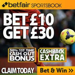 Betfair Sportsbook Promo Code & Free Bets